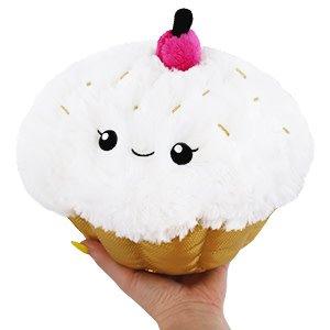 "SQUISHABLE:  Mini Golden Cupcake, Special Edition (7"")"