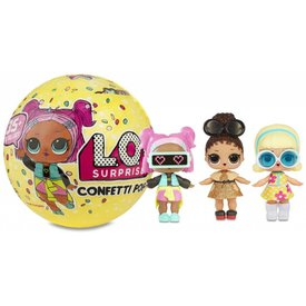 LOL SURPRISE!:  CONFETTI POP