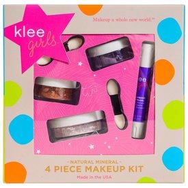 KLEE KLEE GIRLS:  4 PC MAKEUP KIT - GLORIOUS AFTERNOON