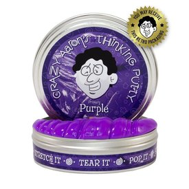 "CRAZY AARON'S PUTTY:  PURPLE 2"" TIN"