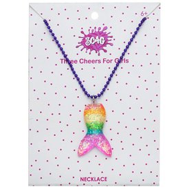 3C4G 3C4G:  GLITTER MERMAID NECKLACE