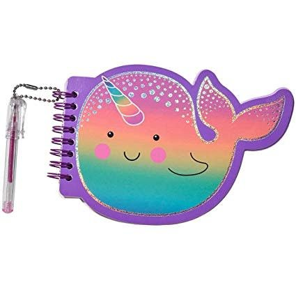 3C4G 3C4G:  NARWHAL MINI NOTEPAD