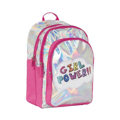 3C4G:  GIRL POWER HOLOGRAM BACKPACK