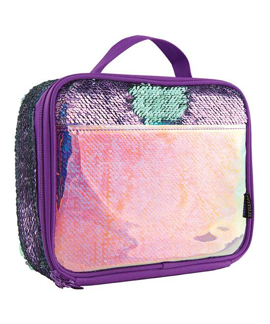 FASHION ANGELS: S.Lab Magic Sequin Lunch Tote-Silver Holo & Reveal