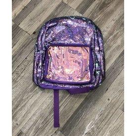 FASHION ANGELS:  S.Lab Magic Sequin Backpack-Purple Holo/Seafoam
