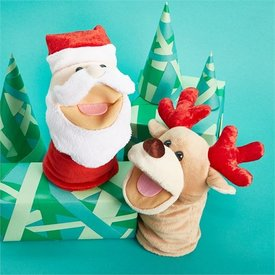 TWO'S COMPANY CUPCAKES AND CARTWHEELS:  JOLLY JINGLES HAND PUPPET (ASST)