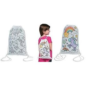 FUN EXPRESS COLOR YOUR OWN UNICORN BACKPACK