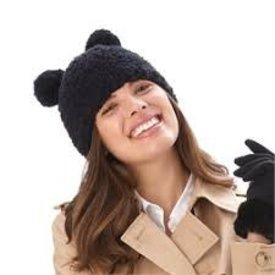 2 CHIC:  BEAR HAT (ASST COLOR)