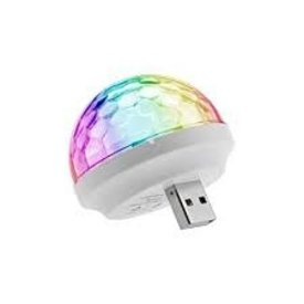 WIRELESS EXPRESS WIRELESS EXPRESS:  USB MINI DISCO LIGHT