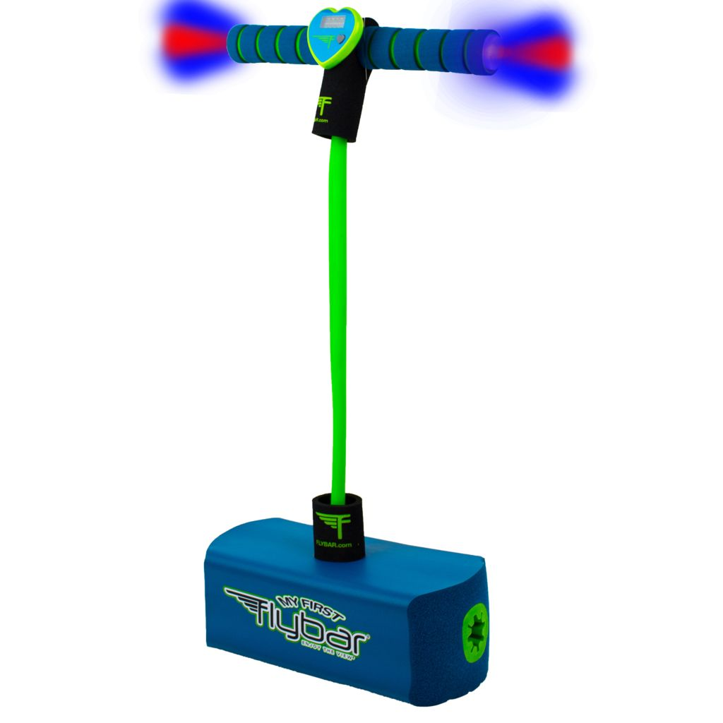 FLYBAR:  JUMP AND SQUEAK LED COUNTER HOPPER - BLUE