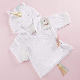 BABY ASPEN BABY ASPEN:  Simply Enchanted Unicorn Hooded Spa Robe