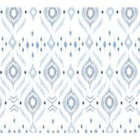 ANGEL DEAR ANGEL DEAR:  BAMBOO SWADDLE BLANKET - -BLUE IKAT