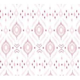 ANGEL DEAR ANGEL DEAR:  BAMBOO SWADDLE BLANKET - PINK  IKAT