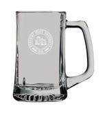 LXG. INC Glass Mug with handle KSU Seal