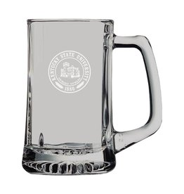 LXG. INC KSU Seal Glass Mug with handle