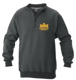 Russell Athletic 1/4 Zip Jackson Hall crew