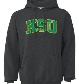 Russell Athletic Graphite KSU Hoodie
