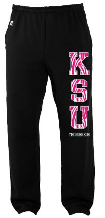 Russell Athletic Zebra Print KSU Sweatpants