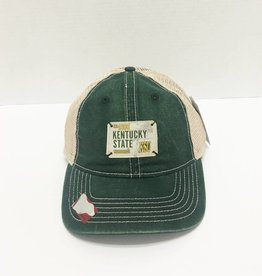 Ahead Washed Mesh Kentucky State Cap