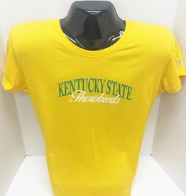Russell Athletic Women's Gold Kentucky State T-Shirt