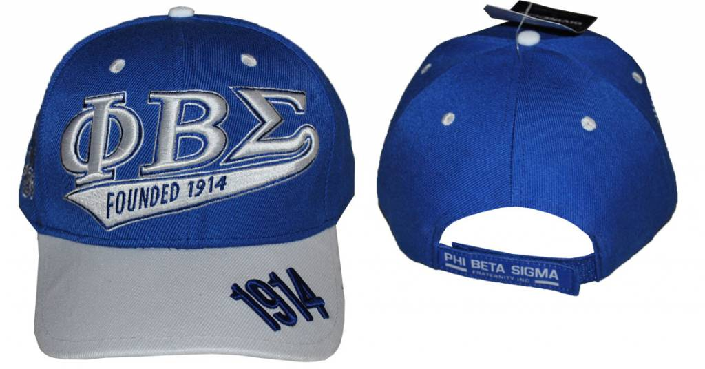 Big Boy Headgear Greek Phi Sigma Beta Baseball Hat