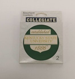 MCM Group Green KSU Stone Coaster