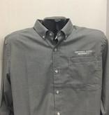 Cutter & Buck Long Sleeve Checkered Dress Shirt