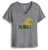League Boyfriend  Spirit Horse V-Neck T-Shirt