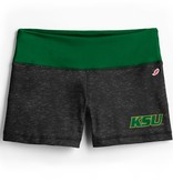 League Boy Short KSU Green White Waistband