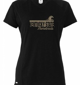 Russell Athletic Women's Logo Glitter/Foil T-Shirt