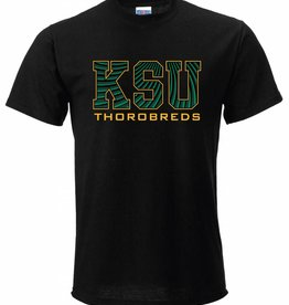 Russell Athletic Stripped KSU Thorobreds T-Shirt