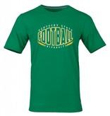 Russell Athletic Black Football Shape T-Shirt