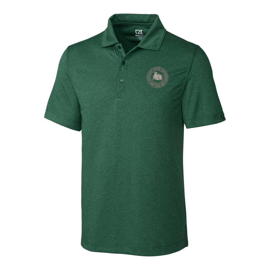 Cutter & Buck Polo Seal Green Heather
