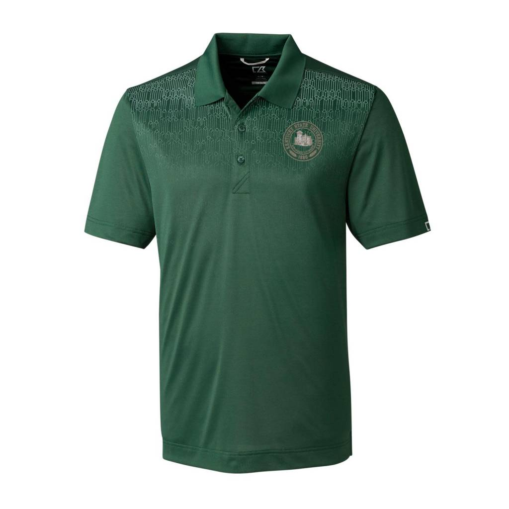Cutter & Buck Polo Seal Green Catapult Design