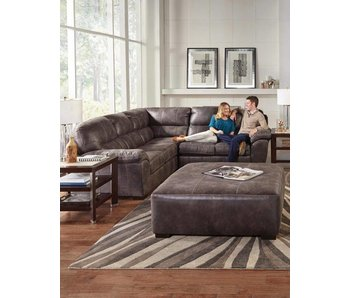 Jackson Grant 3 Piece Sectional (Steel)