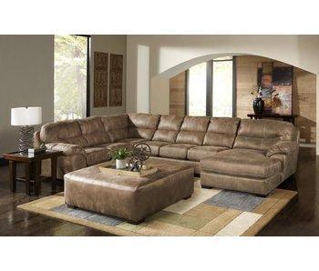Jackson Grant Armless Sofa (Silt)
