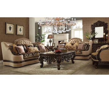 Homey Design Charlie Euro 3 Piece Living Room Set.