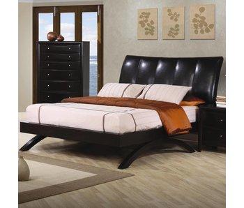 Coaster QUEEN BED (DEEP CAPPUCCINO)