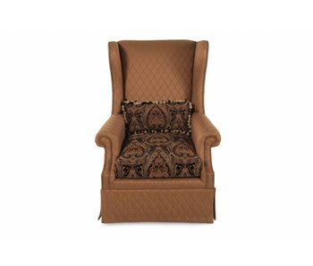 ART Furniture Serena Gold Skirted Wing Chair (Gold)