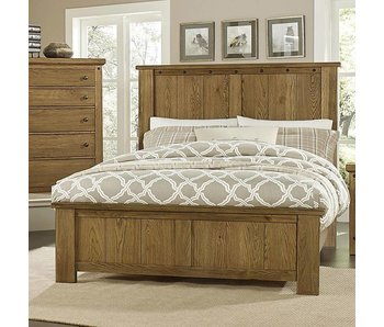 Vaughan Bassett Collaboration King Bedroom Set (Oak)