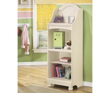 Ashley Furniture Cottage Retreat Full Bookcase Bedroom Set (Cream)