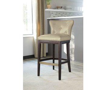 Ashley Furniture Canidelli Tall Upholstered Barstool (Beige)