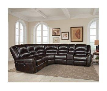Parker House Furniture Gershwin 6 Piece Sectional (Java)
