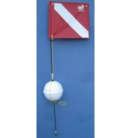 1 piece 4' Float with Nylon Flag Styrofoam