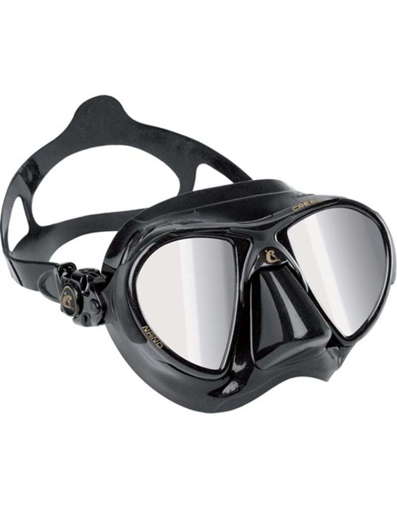 Cressi Cressi Nano Dark HD Mirrored Lens Mask