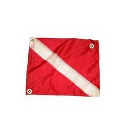 Nylon Dive Flag 14 x 18 with stiffener