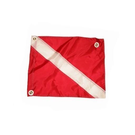 Nylon Dive Flag 14 x 18 with Stiffener
