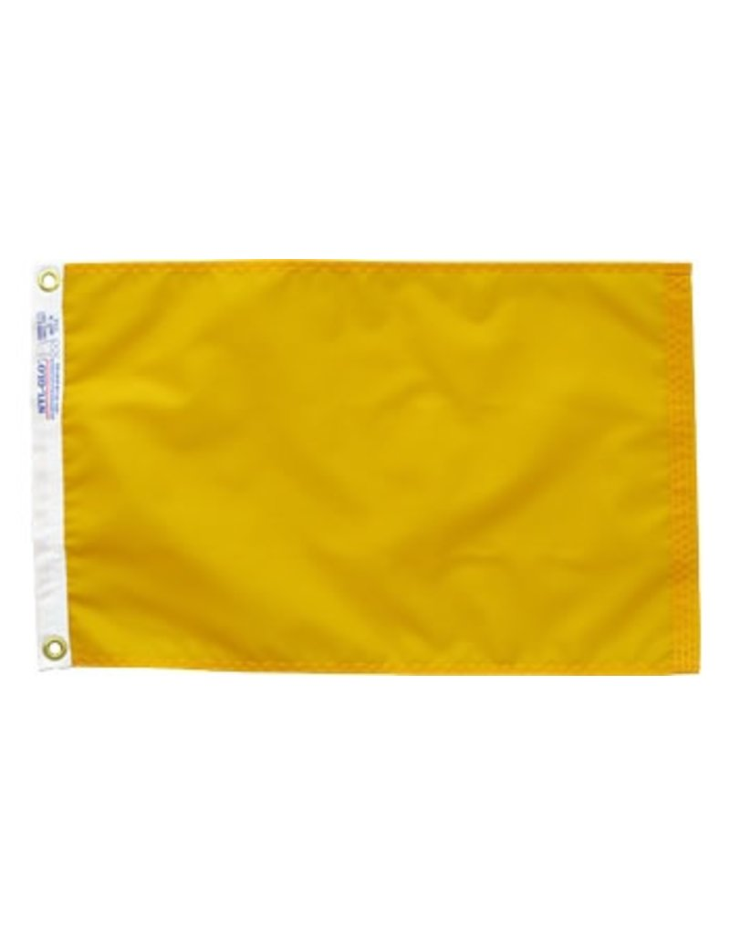 International Yellow Quarantine Nylon Flag 12x18