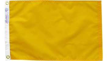 International Yellow Quarantine Nylon Flag 12x18