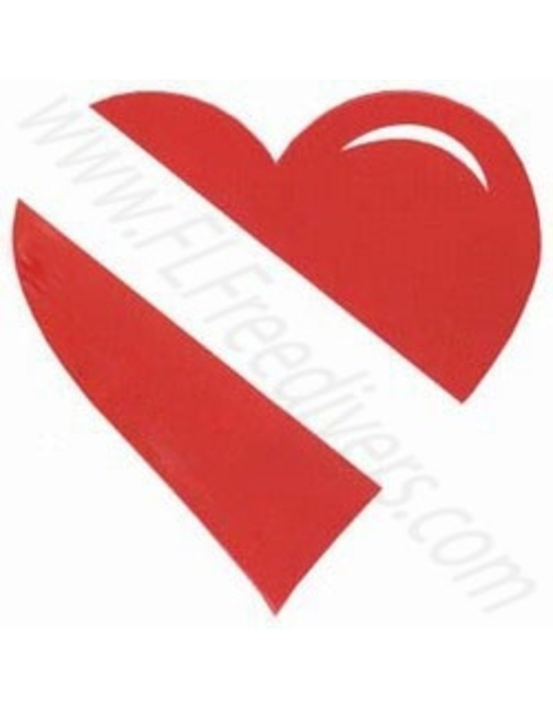Heart Dive Sticker